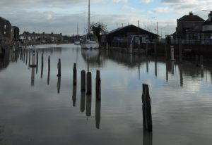 Is Rye at risk from flooding?