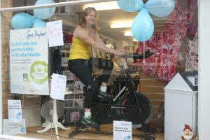 Riding for Sue Ryder