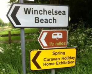 Is there a caravan park round here?
