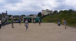 Petanque Competition at the White Rock Hastings