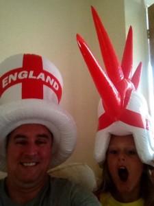 Steve & Adam before England's big games