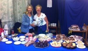 The cakes went down well with the public