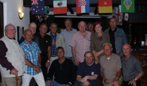 Crib teams & players at the presentation night at Green Owl camber on June 26th