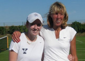 Annie Sullivan and club legend Frances Candy won the ladies doubles final after a close match