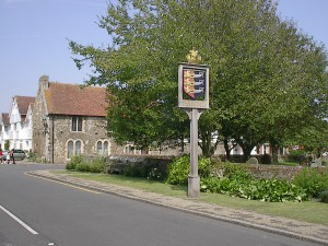 Winchelsea Town Sign