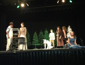 Stage struck: Rye College students in performance (photo Dan Lake)