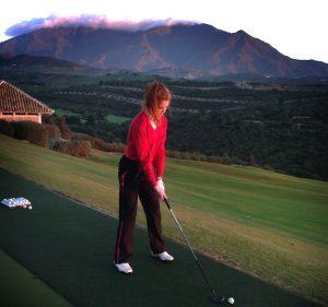 Golfer Darcie ends on a flourish