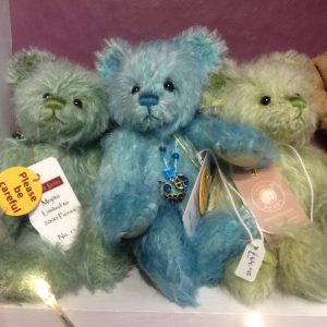 Limited Edition Charlie Bear, in pastel colours. £65, The Corner House