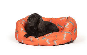Danish Design 'Boxing Hares' Dogbed from £22.50, Pette Shoppe Rye, High Street