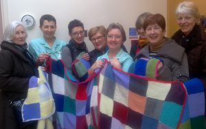 Warm welcome for WI blankets