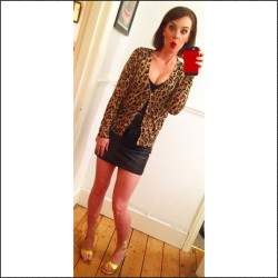 Me as Kat Slater or Kat Moon or whatever.