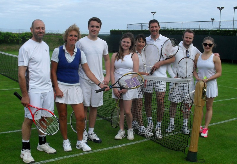 No Sue Barker to interview them, but the winners celebrate their success
