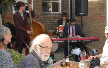 The Carter Burton Trio at the Kino Terrace