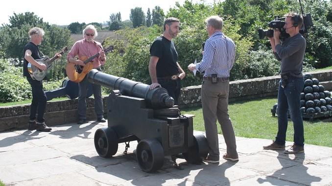 Rob Smith interviews Ian Bowden at the Gun Garden