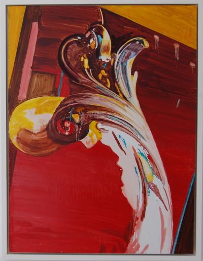 """Lady Montefiore"" oil on board by Paula MacArthur New Road Artist"