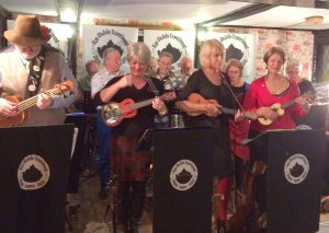 Wild boar night for the ukuleles