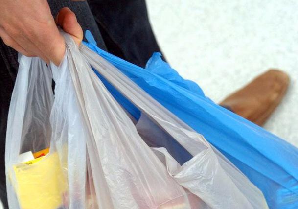 Plastic bag charge