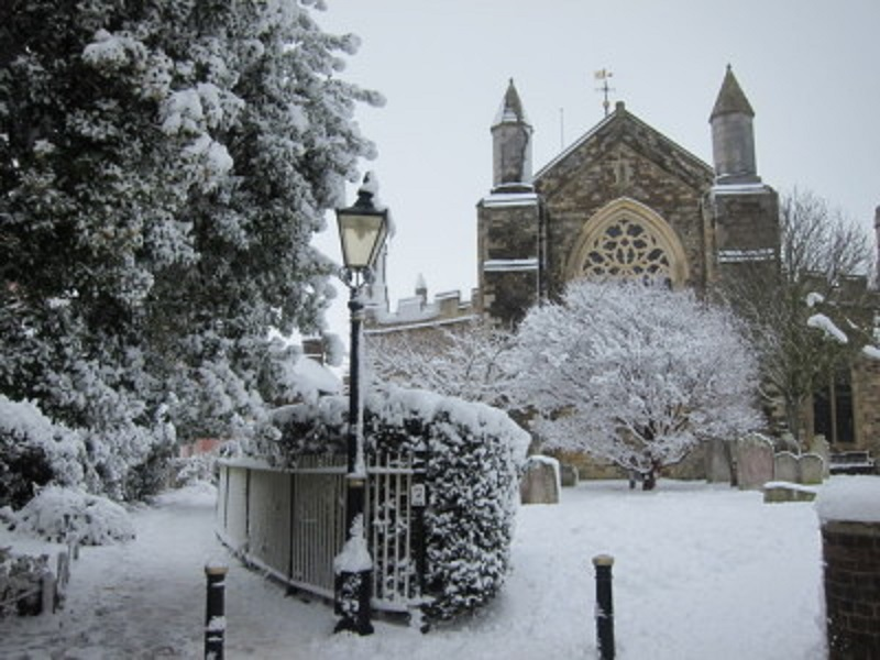 St Mary's at Christmas