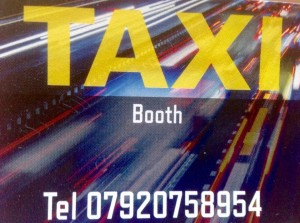 Need a taxi give taxi booth a call
