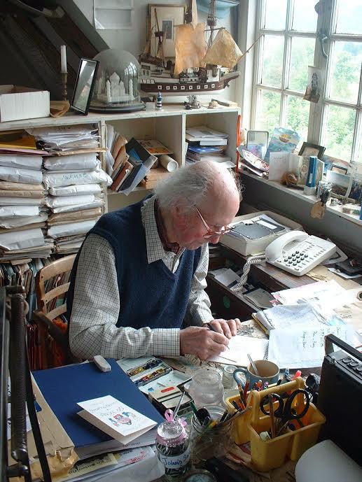 John Ryan in his study
