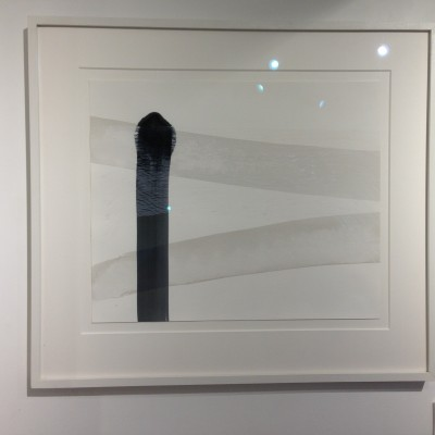 'Beam' - ink and acrylic, by Denise Franklin