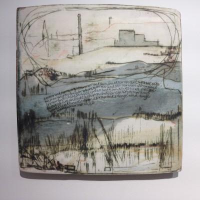 'Denge Wonder' - a clay piece by Sarah Palmer