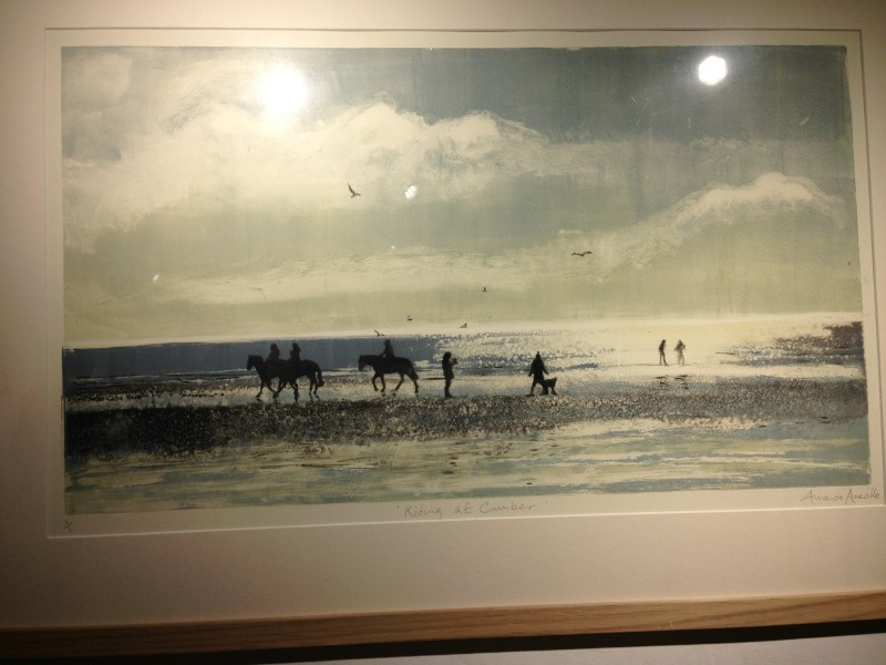 Horses on Camber sands