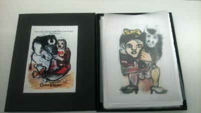 Box set of Oska Lappin's paintings