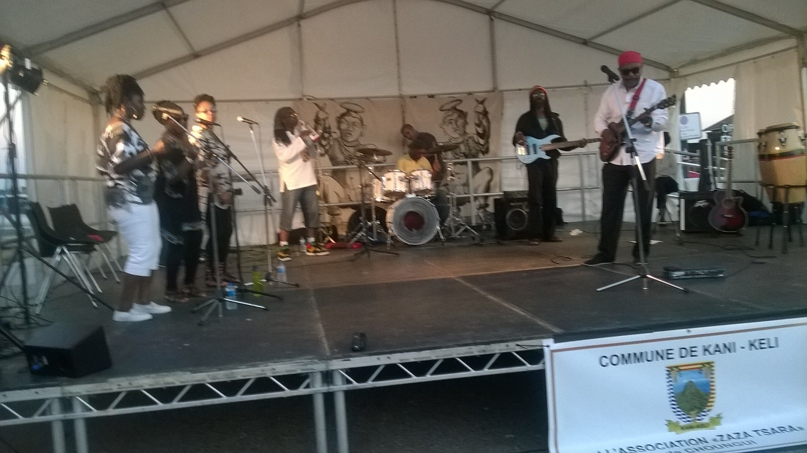 An evening of Raggae with the Gabbidon Band