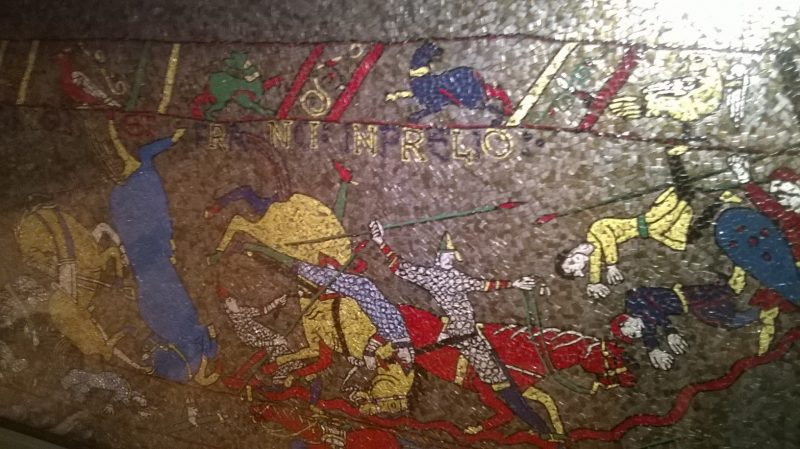 The 1066 Hastings battle, many were lost on both sides