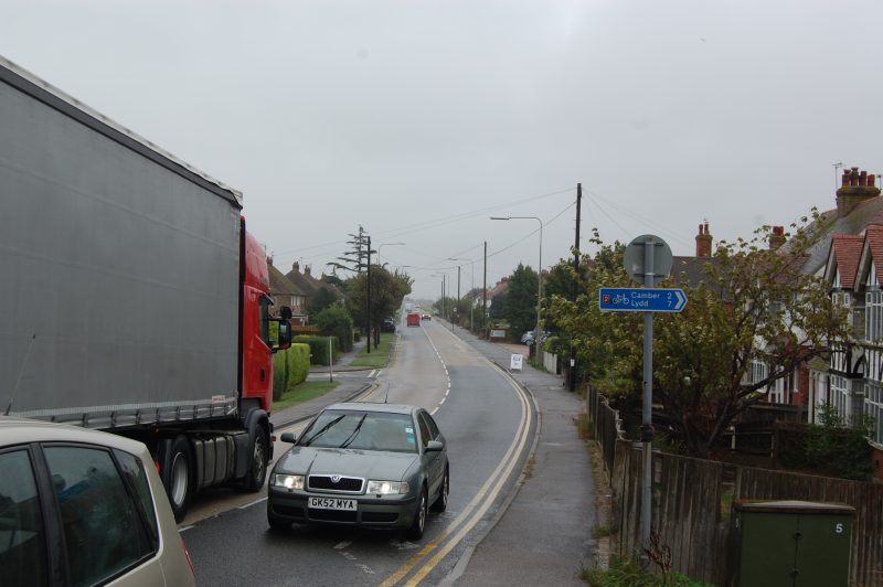 New Road: traffic calming needed