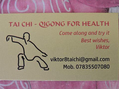 Tai Chi Opportunity