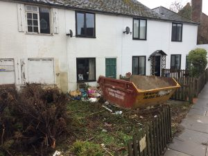 Clean-up time in Ferry Road