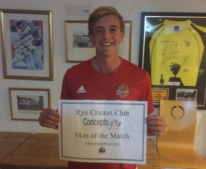 Rye 1st XI extend lead at top