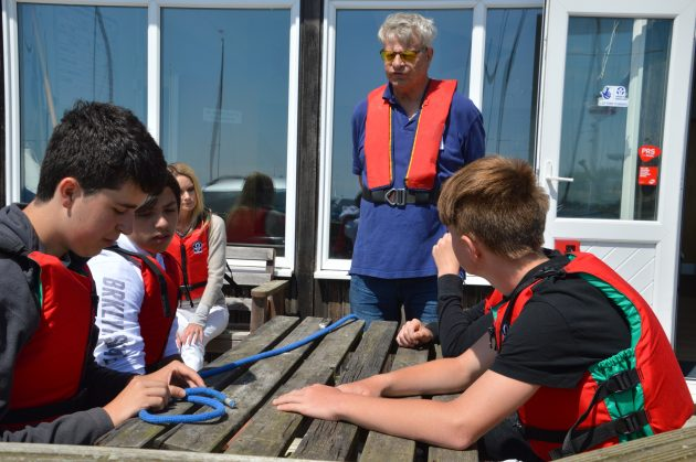 Sailability day for students