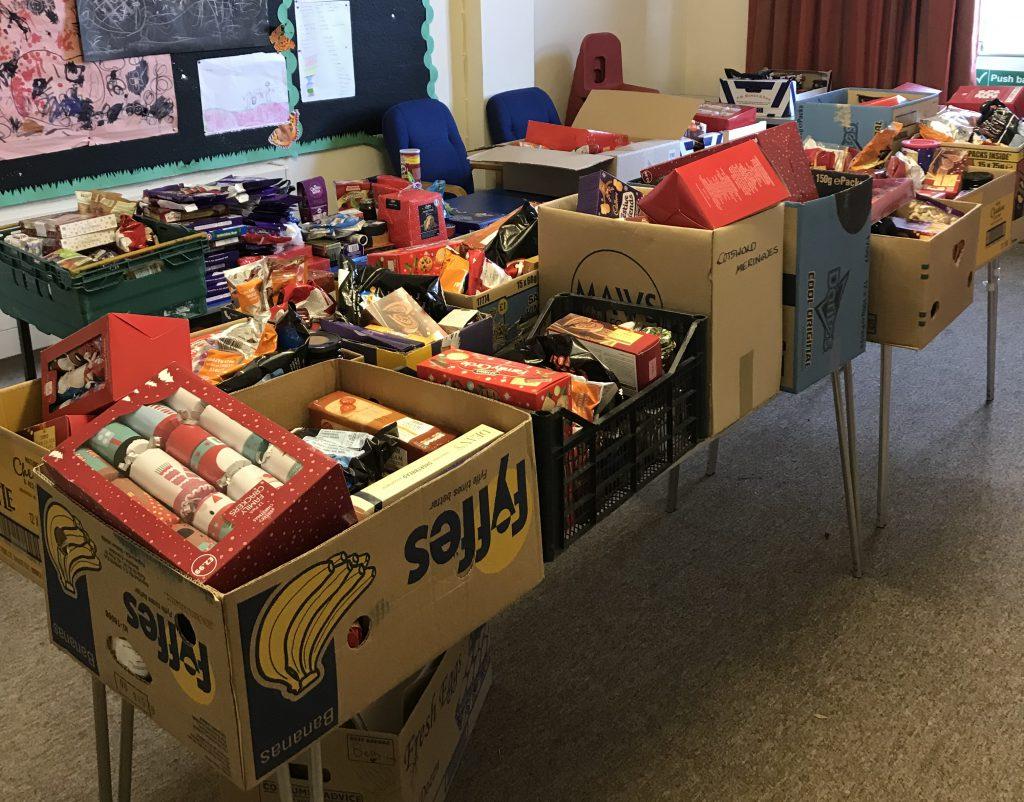 Generous Christmas donations
