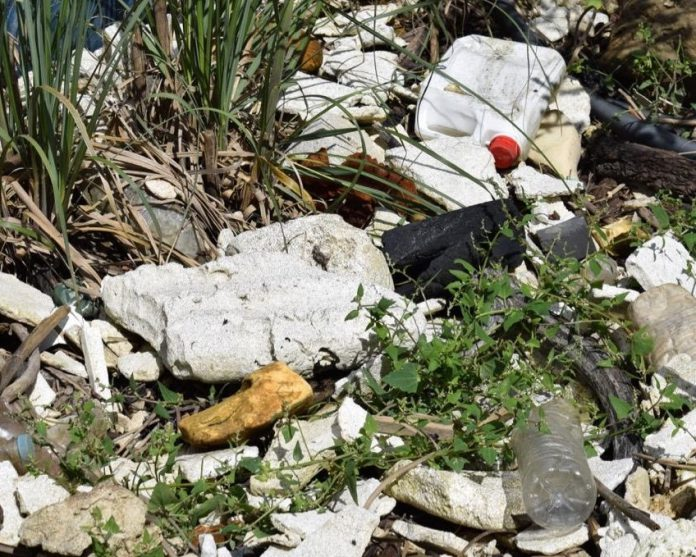 beach rubbish, plastic pollution