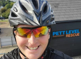 SOS charity bike ride for Pett Level Independent Rescue Boat