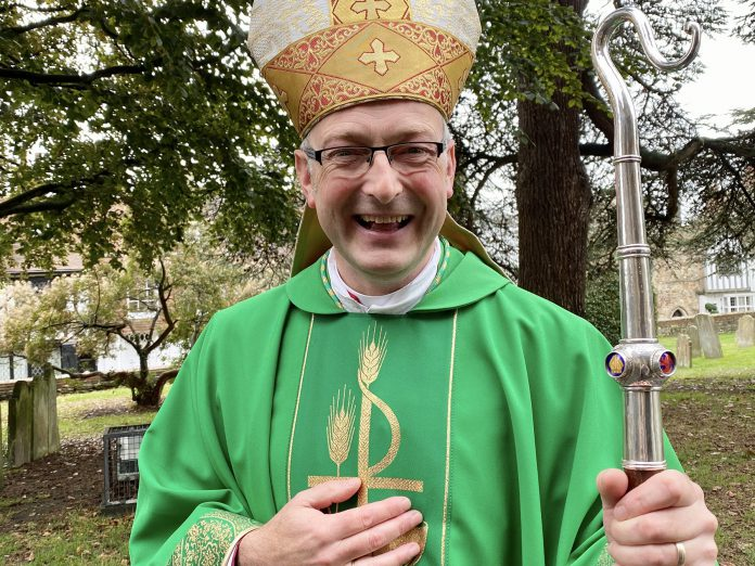 Rt Rev Will Hazelwood, Bishop of Lewes