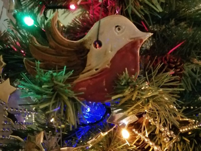 Marian Mason Ocean Ceramics, Christmas decorations